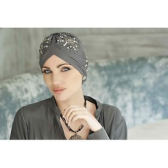 Hats for Cancer Patients - Gem Crystal Grey
