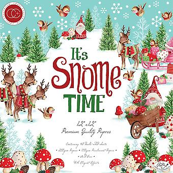 Craft Consortium It's Snome Time 12x12 Tommer Papir Pad