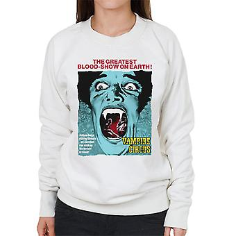Hammer Horror Films Vampire Circus Greatest Blood Show Women's Sweatshirt