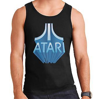 Atari 3D Perspective Logo Menn's Vest