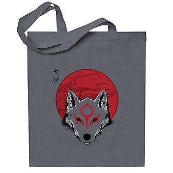 Okami Red Sun God Totebag