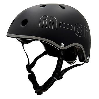 Micro Scooters Black Deluxe Helm