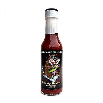 Angry Goat Sweaty Beaver Hot Sauce Forbidden Series