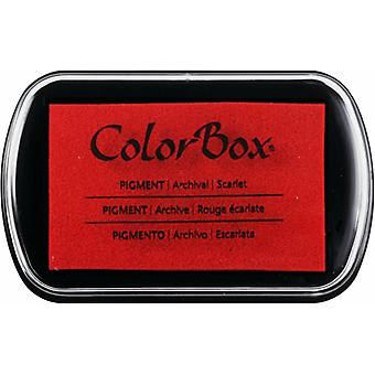 Clearsnap ColorBox Pigment Ink Full Size Scarlet
