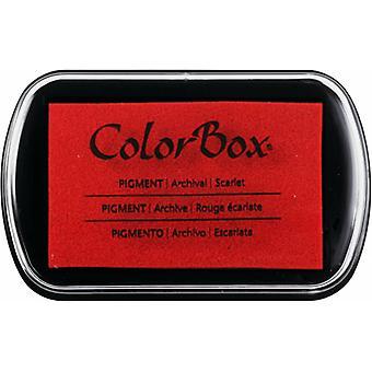 Clearsnap ColorBox Pigment Bläck Full storlek Scarlet