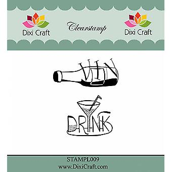 Dixi Craft Danish Texts Clear Stamps