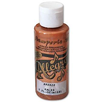 Stamperia Allegro Paint 59ml Bronze