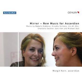 Babette Koblenz/Annette Schlunz/Jin-Ah Ahn/Charlot - Mirror: New Music for Accordion [CD] USA import
