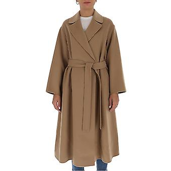 'S Max Mara 90160509600700007 Femmes-apos;s Manteau de laine beige
