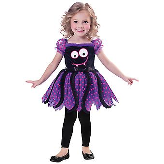 Itsy Bitsy Spider Costume 2-3 Years Kids Halloween Fancy Dress Outfit Costume