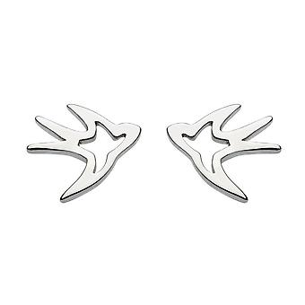 Boucles d'oreilles Dew Sterling Silver Swallow Stud 4045HP014