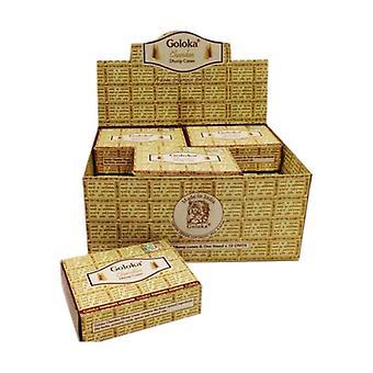 Goloka Chandan Incense Cones 10 units