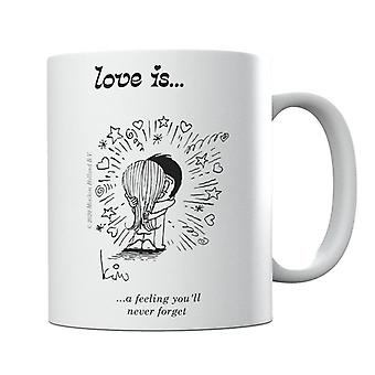 Love Is A Feeling you'll Never Forget Mug