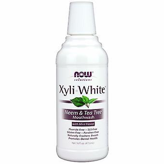 Ora Foods Xyliwhite Neem & Tea Tree Mouthwash, 16 Oz