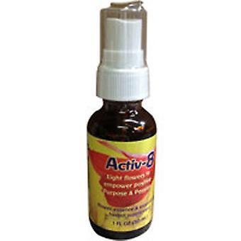 Flower Essence Palvelut Activ-8 Spray, 1 oz
