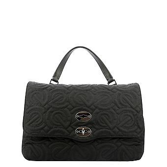 Zanellato 6131jn02 Women's Black Leather Handbag