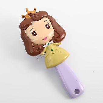 Disney  Anti-static Hair Cushion Comb Accessories, Mermaid Plastic Comb