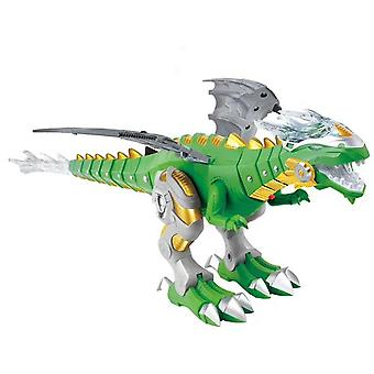 Large Spray Dinosaur, Robot Cartoon Swing Walking Animal Model -electronic