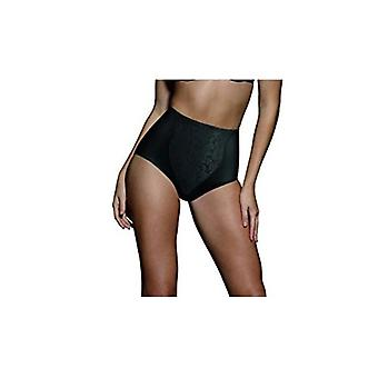 Bali Women's Shapewear Double Support Coordinate Brief with Lace Tummy Panel ...