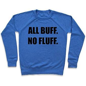 All buff. no fluff (croptop) crewneck sweatshirt