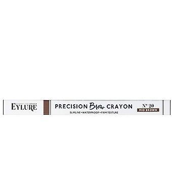 3 x Eylure Precision Brow Crayon - No.20 Mid Brown
