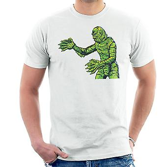 Creature From The Black Lagoon Side Monster Men's T-Shirt