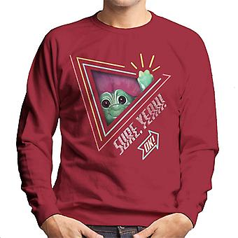 Trolls Sure Yeah Ok Men's Sweatshirt