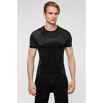 Jerf Mens Provo Black Tee Shirt