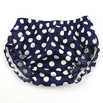 Baby Fashion Ruffle Scutec Cover, Toddler Bumbac Dots Pantaloni scurți
