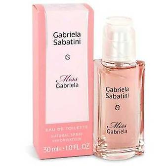 Miss Gabriela By Gabriela Sabatini Eau De Toilette Spray 1 Oz (women) V728-543883
