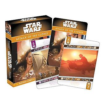 Star wars - ep. 2 attack of the clones playing cards