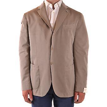 L.b.m. Ezbc215026 Men's Beige Silk Blazer