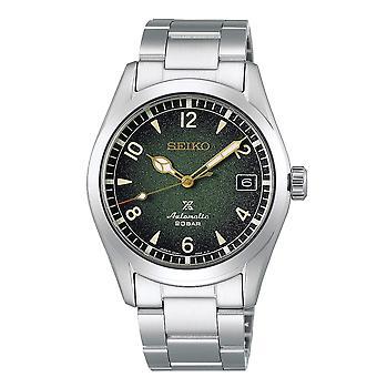 Seiko SPB155J1 Prospex Alpinist Dark Green & Silver Stainless Steel Automatic Men's Watch