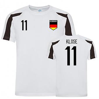 Saksan urheiluharjoittelu jersey (Klose 11)