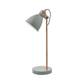 Frederick Gray und Satin Kupfer 1-Licht Tischleuchte