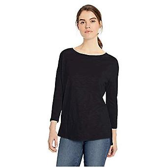 Brand - Daily Ritual Women's Lightweight Lived-In Cotton 3/4-Sleeve Dr...