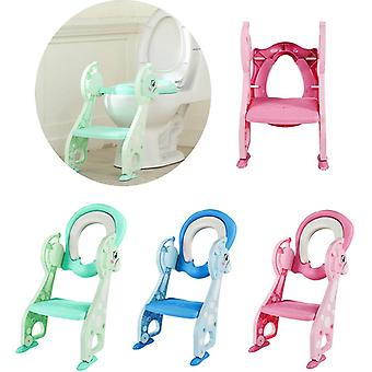 Children Strong Toilet Stairs Portable Deer Baby Potty Training Toilet Ring,