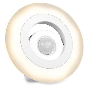 Led Ночной свет Wth датчик движения   8 Светодиодные и двойные датчики   для лестницы стол   Теплый белый