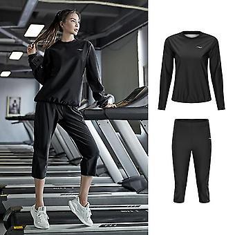 Kuntosali Vaatteet Setti Naisten Puserot Urheiluvaatteet /Running Fitness Training