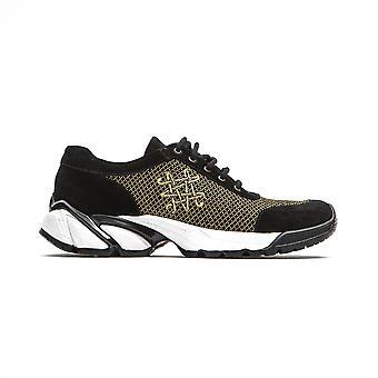 حذاء رياضي أسود السيد والسيدة ايطاليا امرأة