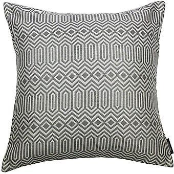 Mcalister textiles colorado cojín geométrico de color gris carbón