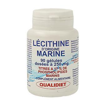 Marine lecithin 90 capsules of 250mg