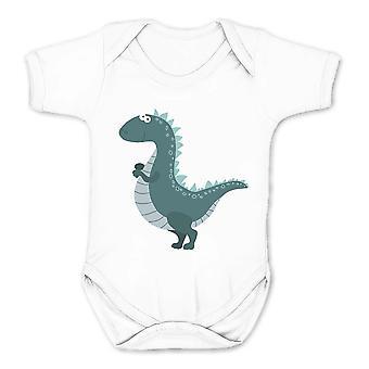 Realität Glitch niedlichbaby Dinosaurier Kinder Babygrow