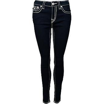True Religion Jennie T Stitch Skinny Jeans