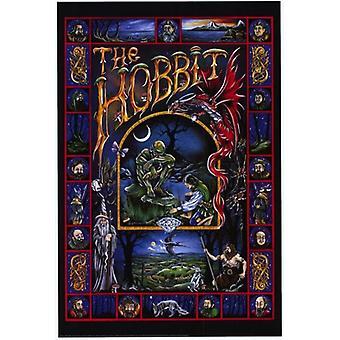 Le Hobbit animé - style C affiche de film (11 x 17)