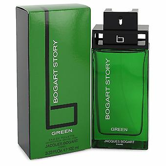 Bogart Story Green by Bogart Eau De Toilette Spray 3.3 oz / 100 ml (Men)