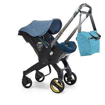Baby Stroller With Car Seat Bassinet High Landscape Folding Carriage Pram