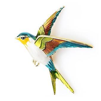 Emali lentävä niellä rintaneula pin