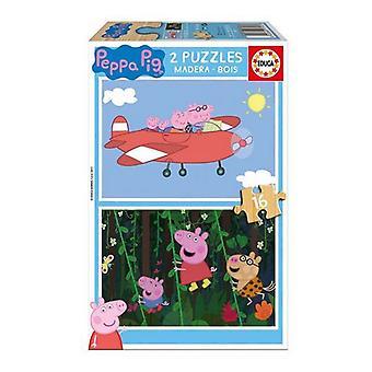 Bulmaca Peppa Pig Educa (16 adet)