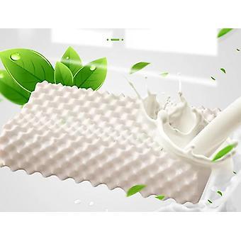 Latex Massage Kissen für Schlafen orthopädische GebärmutterhalsGedächtnis
